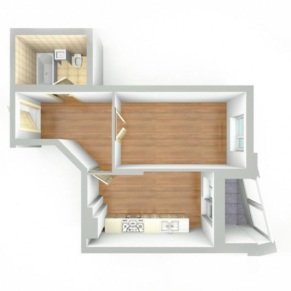 3Д визуализация интерьера
